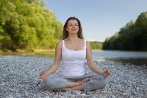joga stresa mazināšanai